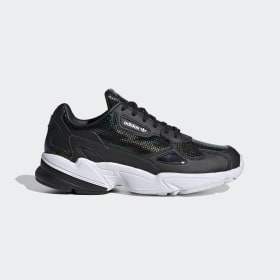 adidas - Falcon Shoes Core Black / Cloud White / Mystery Ruby EF5517