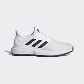 adidas - GameCourt multicourt tennis shoes Cloud White / Core Black / Grey One FU8111
