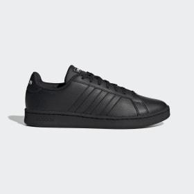 adidas - Zapatilla Grand Court Core Black / Core Black / Cloud White EE7890