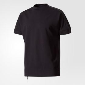 adidas - adidas Z.N.E. Crewneck T-Shirt Black CD8270