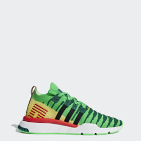 lowest price 382e1 932ed Dragon Ball Z EQT Support Mid ADV Primeknit Schuh