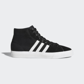 adidas - Matchcourt High RX Shoes Core Black / Cloud White / Gum4 B22786