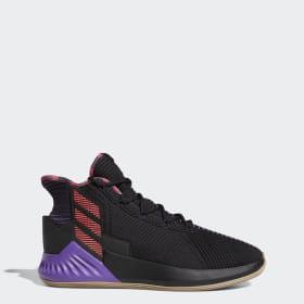 Details zu adidas Herren Derrick Rose Basketball Schuhe Rot Sport Atmungsaktiv Extra Leicht