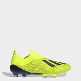 Zapatos de Fútbol X 18+ Terreno Firme