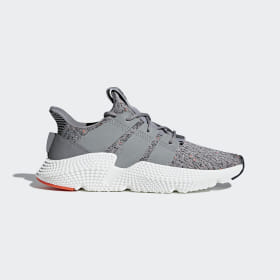 adidas - Prophere Shoes Grey Three / Cloud White / Solar Red CQ3023