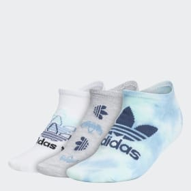 Colorwash No-Show Socks 3 Pairs