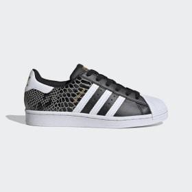 adidas - Obuv Superstar Core Black / Cloud White / Gold Metallic FV3327