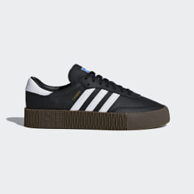 adidas - Zapatilla SAMBAROSE Core Black / Cloud White / Gum5 B28156