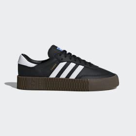 adidas - SAMBAROSE Shoes Core Black / Cloud White / Gum5 B28156