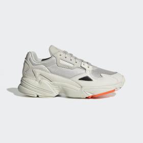 adidas - Falcon Schoenen Off White / Raw White / Active Purple EE5118