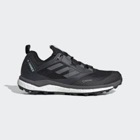 adidas - Zapatilla Terrex Agravic XT GORE-TEX Trail Running Core Black / Grey Five / Ash Green AC7664