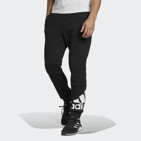 Essentials Fleece Tapered Cuff Logo Pants