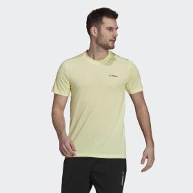 adidas - T-shirt Terrex Tivid Pulse Yellow GQ4263