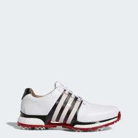 Adidas Herr Vit Röd Golfskor Black Power Tour360 Boost Wd