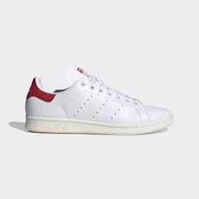 adidas - Stan Smith Schoenen Cloud White / Off White / Scarlet FV4146
