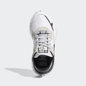 adidas originals nite jogger baskets bordeaux enfant