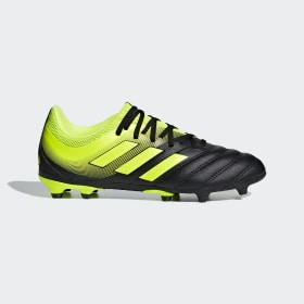 adidas - Copa 19.3 Firm Ground Boots Core Black / Solar Yellow / Solar Yellow D98080