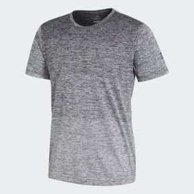 adidas - FreeLift Gradient T-Shirt Grey / Black / White CW3435