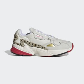 adidas - Falcon Shoes Chalk White / Off White / Scarlet FV8079