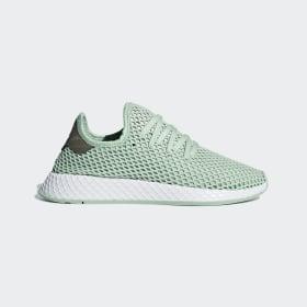 adidas - Deerupt Shoes Ash Green / Ash Green / Tech Silver Met. B37680