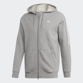 adidas - Radkin Hoodie Medium Grey Heather DU8140