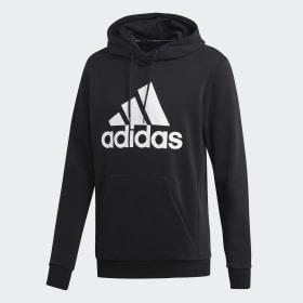 adidas - Must Haves Badge of Sport Hoodie Black / White DQ1461