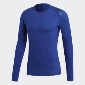 adidas - Alphaskin Sport Long-Sleeve Top Mystery Ink CD7176