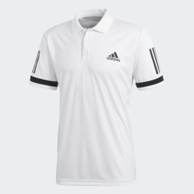 adidas - 3-Stripes Club Polo Shirt White CE1415
