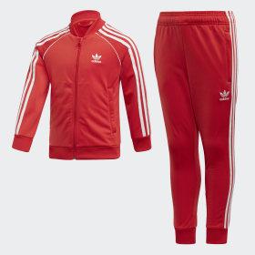 rot Originals Freizeit Trainingsanzüge   adidas