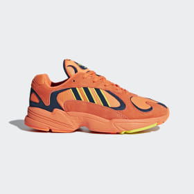 adidas - Yung 1 Shoes Hi-Res Orange / Hi-Res Orange / Shock Yellow B37613