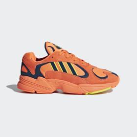 adidas - Zapatilla Yung 1 Hi-Res Orange / Hi-Res Orange / Shock Yellow B37613