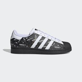 adidas - Superstar Shoes Core Black / Cloud White / Cloud White FV2820