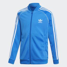 adidas - SST Track Jacket Bluebird / White ED7807