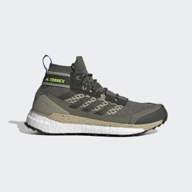 adidas - Scarpe da hiking Terrex Free Hiker Legacy Green / Core Black / Signal Green EF0368