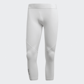 adidas - Alphaskin Sport 3/4 Tights White CD7189