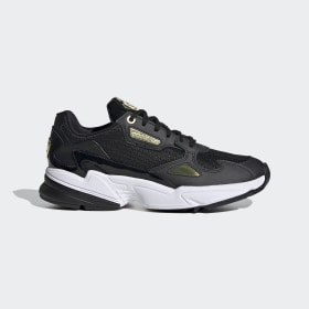adidas - Falcon Shoes Core Black / Gold Metallic / Cloud White EF4988