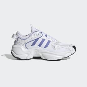 adidas - Scarpe Magmur Runner Cloud White / Chalk Purple / Core Black EF9003