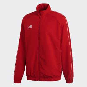 adidas rød jakke