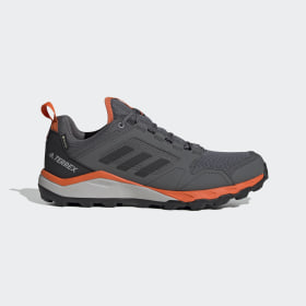 adidas - Terrex Agravic TR GORE-TEX Trail Running Shoes Grey Four / Core Black / Orange EF6869