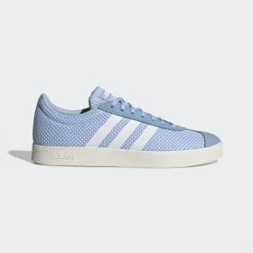 adidas - VL Court 2.0 Schoenen Glow Blue / Cloud White / Cloud White EE6789