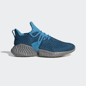adidas - Alphabounce Instinct Shoes Legend Marine / Legend Marine / Shock Cyan BD7112