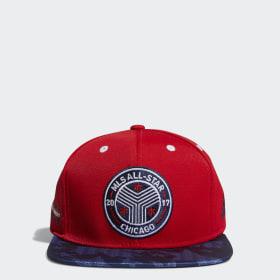 Flat-Brim Snapback Hat 9d7ebebe47cd