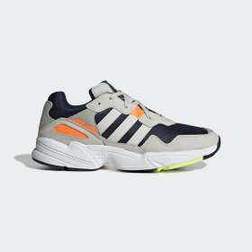 adidas - Yung-96 Shoes Beige / Solar Orange / Blue F35017