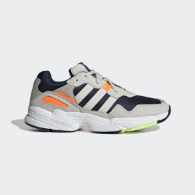adidas - Yung-96 Shoes Beige / Solar Orange / Blue F35017