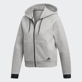 adidas - Must Haves Hoodie Medium Grey Heather DU6571