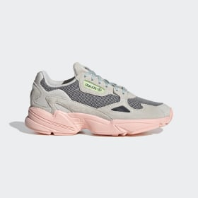 adidas - Falcon Shoes Talc / Haze Coral / Green Tint FV1104