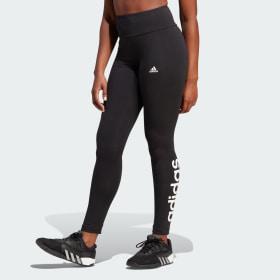 LOUNGEWEAR Essentials High-Waisted Logo Leggings