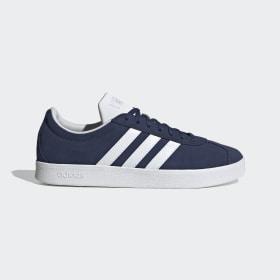 adidas - VL Court Schoenen Tech Indigo / Cloud White / Matte Silver EG4107