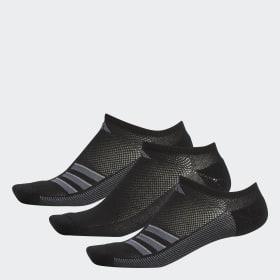 innovative design 843be 186ea Climacool Superlite 3-Stripes No-Show Socks ...