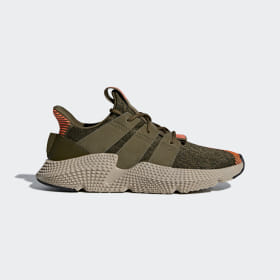 adidas - Prophere Shoes Trace Olive / Trace Olive / Solar Red CQ2127